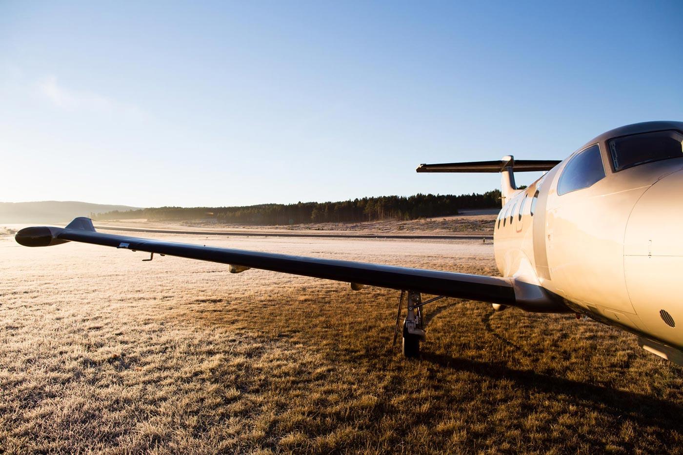 Desert Plane Wing