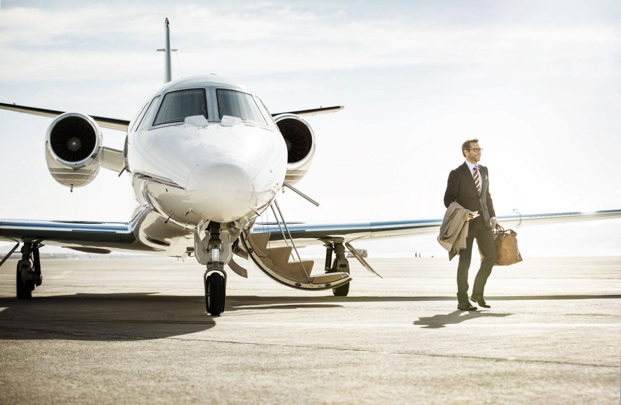 StraightLine Private Air Businessman